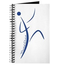 Martial Artist (Blue) - Journal