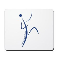 Martial Artist (Blue) - Mousepad