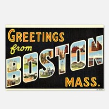 Vintage: Greetings from B Postcards (Package of 8)