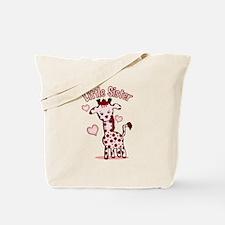 Ruby Giraffe Tote Bag