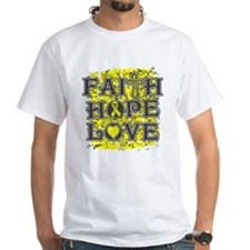 Osteosarcoma Faith Hope Love Shirt
