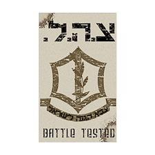 IDF Raw Rectangle Decal