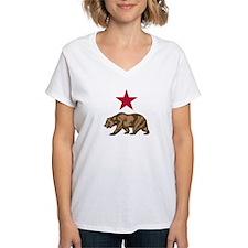 California Star and Bear symbol Shirt