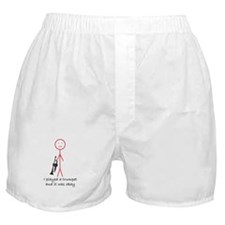 I Played a Trumpet Boxer Shorts