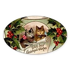 Vintage Christmas - With Best Chris Decal