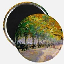 Hyde Park, London--Painting by Camille Piss Magnet