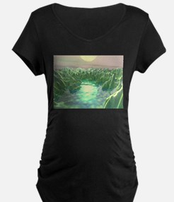 The Green Planet Maternity T-Shirt