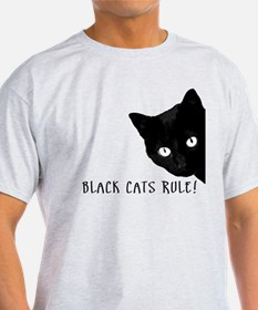 Black Cats Rule T-Shirt