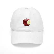 Apple with a bite Baseball Cap