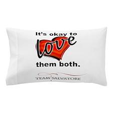 TVD - OK 2 Love Them Both *Team Salvatore* Pillow