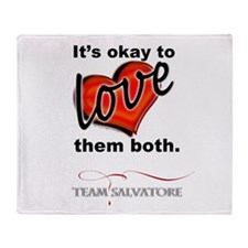 TVD - OK 2 Love Them Both *Team Salvatore* Throw B