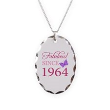 Fabulous Since 1964 Necklace Oval Charm