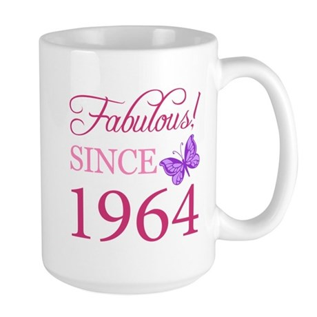 Fabulous Since 1964 Large Mug