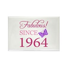 Fabulous Since 1964 Rectangle Magnet (100 pack)