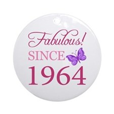 Fabulous Since 1964 Ornament (Round)