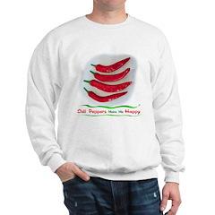 Chili Peppers Make Me Happy Sweatshirt