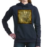 Celtic letter V Hooded Sweatshirt