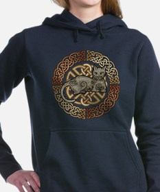 Celtic Cat Hooded Sweatshirt