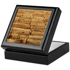 Wine Corks 4 Keepsake Box