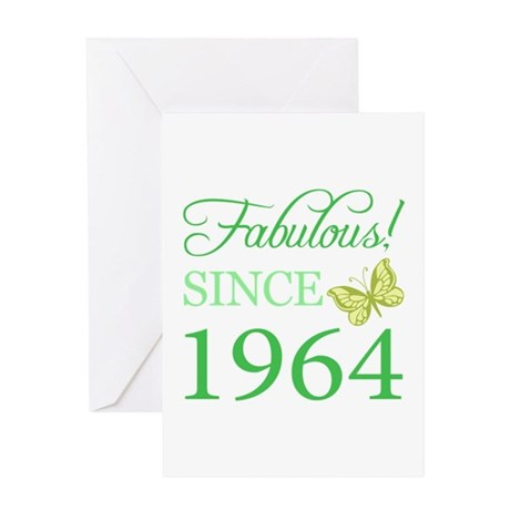 Fabulous Since 1964 Greeting Card
