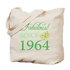 Fabulous Since 1964 Tote Bag