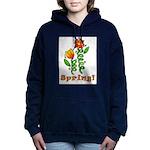 Spring Flowers Hooded Sweatshirt