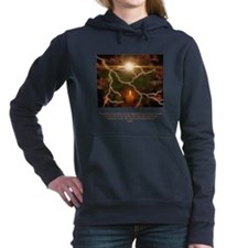 Light From A Single Candle Quote Hooded Sweatshirt