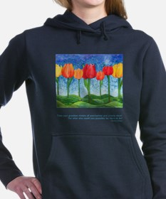 Grandest Visions Inspirational Quote Hooded Sweats