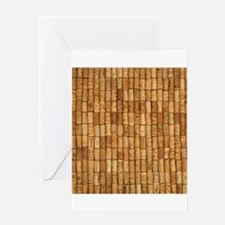 Wine Corks 2 Greeting Cards