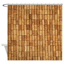 Wine Corks 2 Shower Curtain