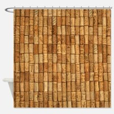 Wine Corks 2 Shower Curtain