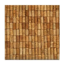 Wine Corks 2 Tile Coaster
