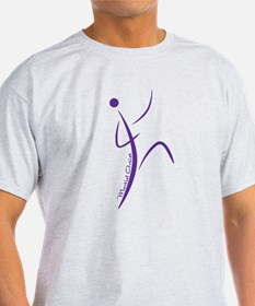 Martial Artist (Purple) - T-Shirt