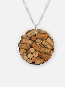 Wine Corks 1 Necklace