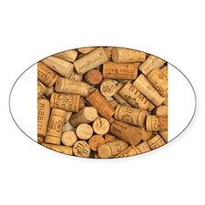 Wine Corks 1 Decal