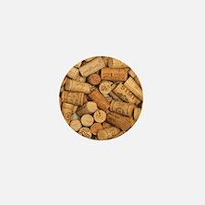 Wine Corks 1 Mini Button