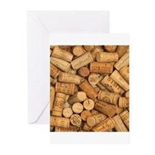 Wine Corks 1 Greeting Cards
