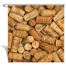 Wine Corks 1 Shower Curtain