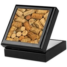 Wine Corks 1 Keepsake Box