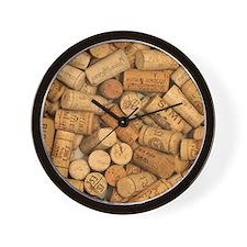 Wine Corks 1 Wall Clock