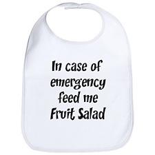 Feed me Fruit Salad Bib