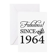 Fabulous Since 1964 Greeting Cards (Pk of 10)