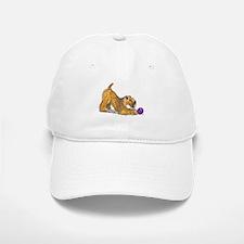 Soft Coated Wheaten Terrier with Ball Baseball Baseball Baseball Cap