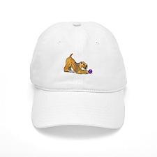 Soft Coated Wheaten Terrier with Ball Baseball Baseball Cap