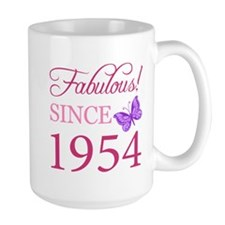 Fabulous Since 1954 Ceramic Mugs