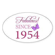 Fabulous Since 1954 Decal