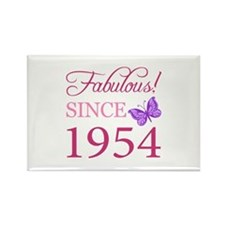 Fabulous Since 1954 Rectangle Magnet