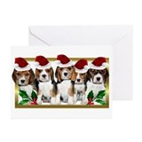 Beagles Greeting Cards (20 Pack)