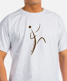 Martial Artist (Brown) - T-Shirt