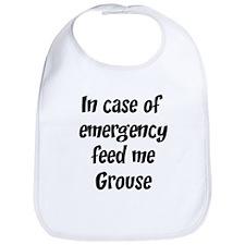 Feed me Grouse Bib